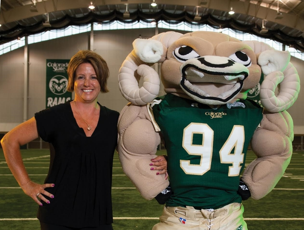 """""""I love following the RAMS and have enjoyed volunteering with the athletic department at Colorado State University. """"   -  Connie"""
