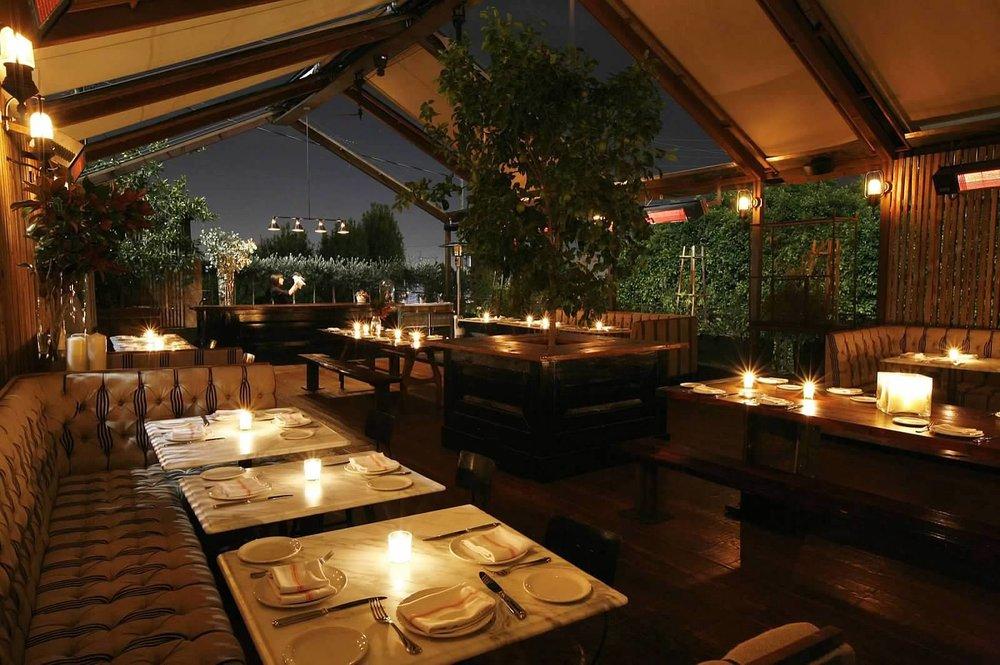 strip restaurants Sunset