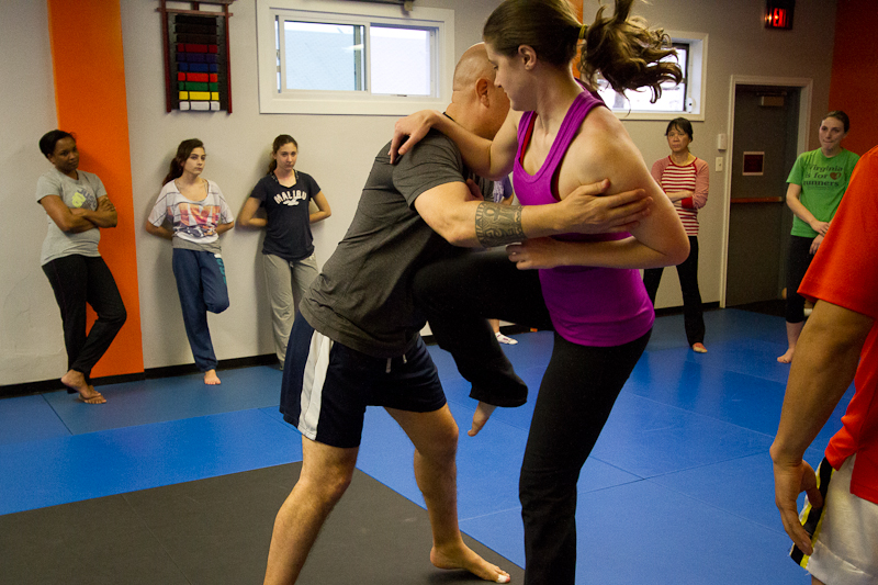 Women's Center Self Defense Seminar at Pentagon MMA