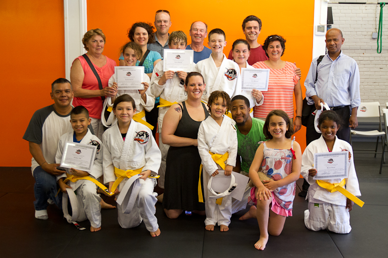 Warrior Kids' MMA Yellow Belt Test