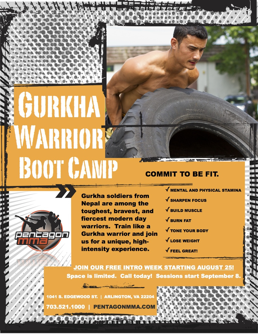 Gurkha Warrior Boot Camp