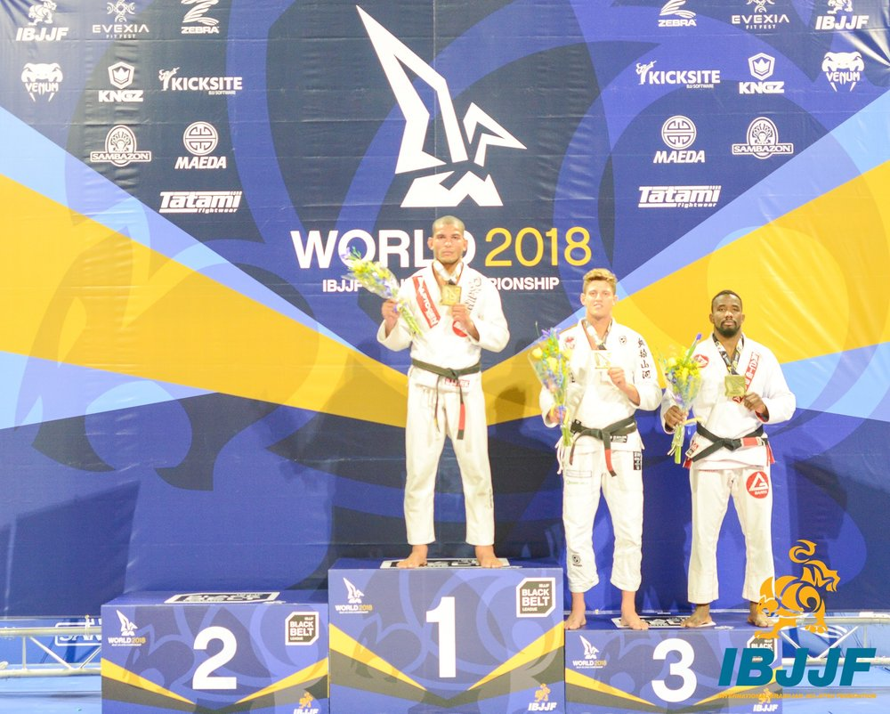 Photo courtesy of IBJJF and Blanca Marisa Garcia.