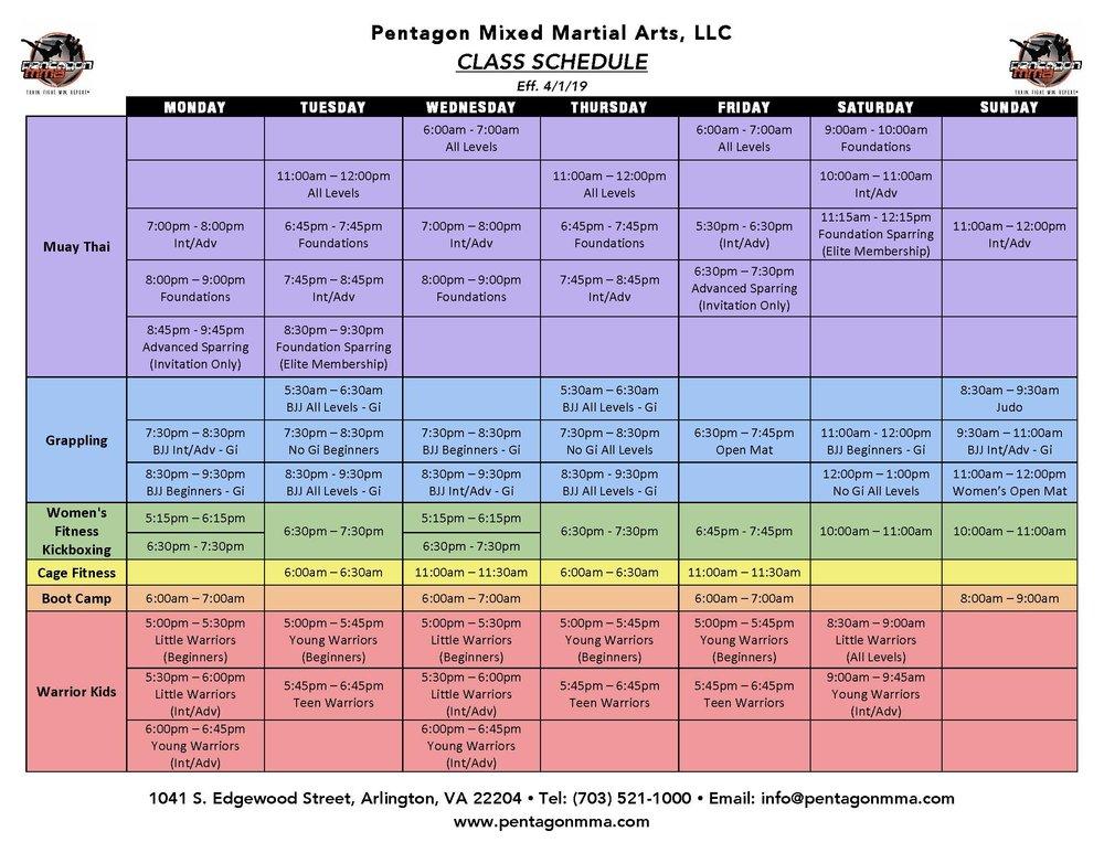 Pentagon MMA Class Schedule 4.1.19 (in Color).jpg