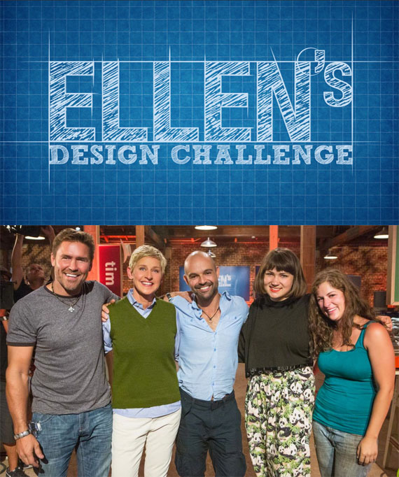 "In July 2014 Gaspar was selected by Ellen DeGeneres  to be one of the contestants on ""Ellen's Design Challenge"" on HGTV"