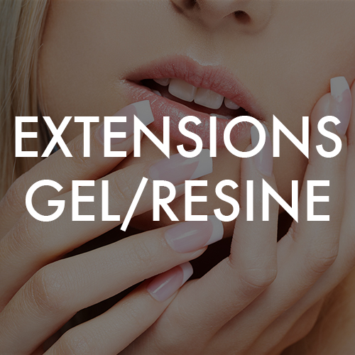 Extensions gel/resine