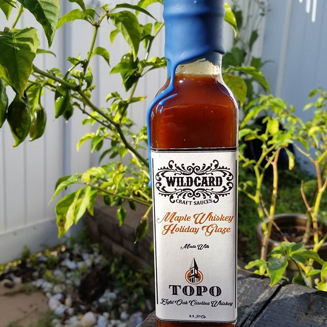 The TOPO collaboration is available both on wildcardsauces.com and in the TOPO location in Chapel Hill!  Get yours before they're all gone!