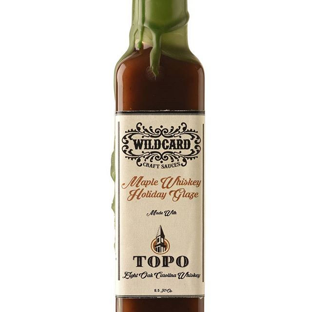 Our yearly TOPO whiskey Holiday Glaze is available now on wildcardsauces.com only 48 left in this year's batch!