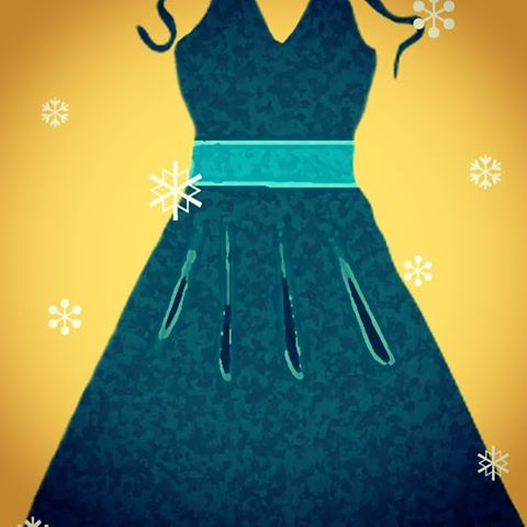 Make a splash this Holiday Season with one Simple Dress. #TrendingNow48pieces at Simply-two.com