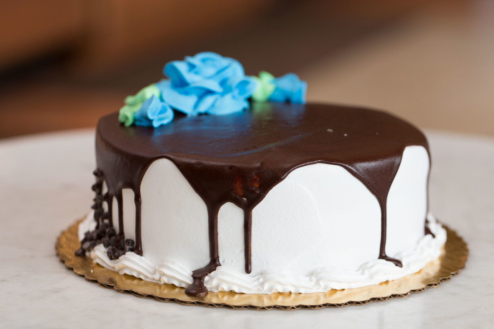 Ganache Complimentry Cake