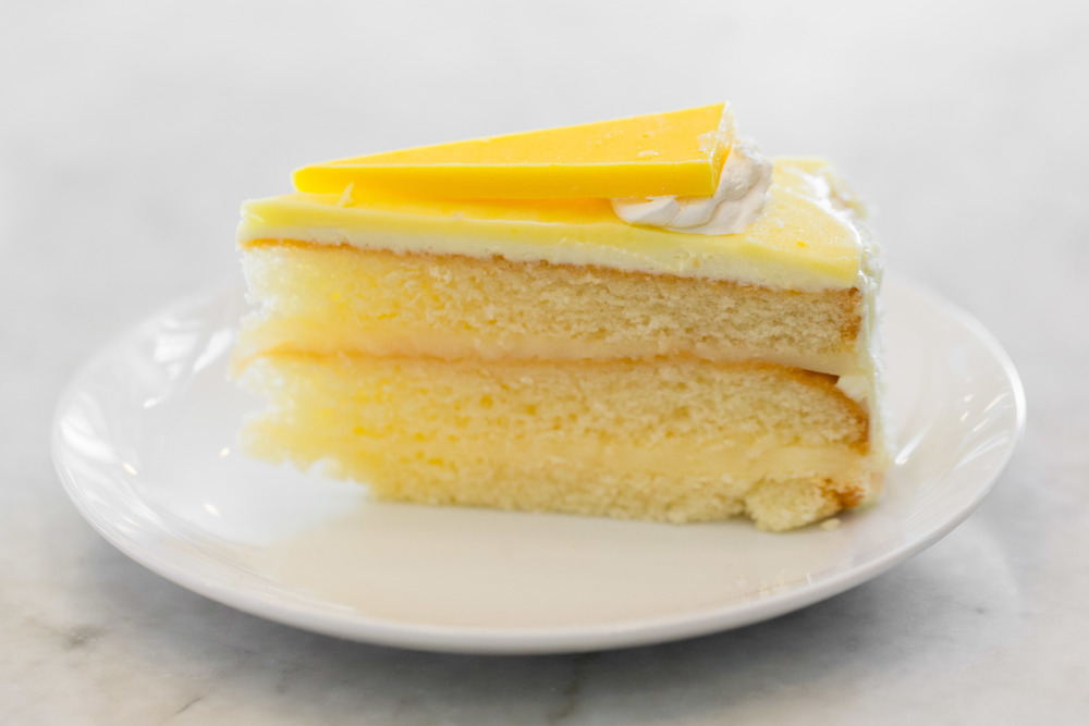 Limoncello Cake Slice