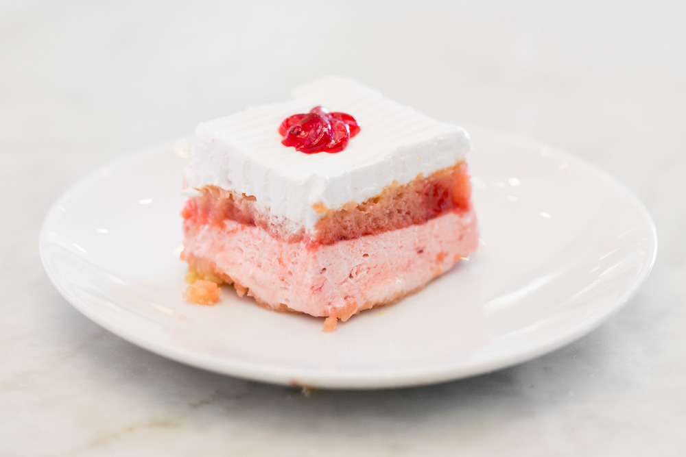 MIni Strawberry Cream Square