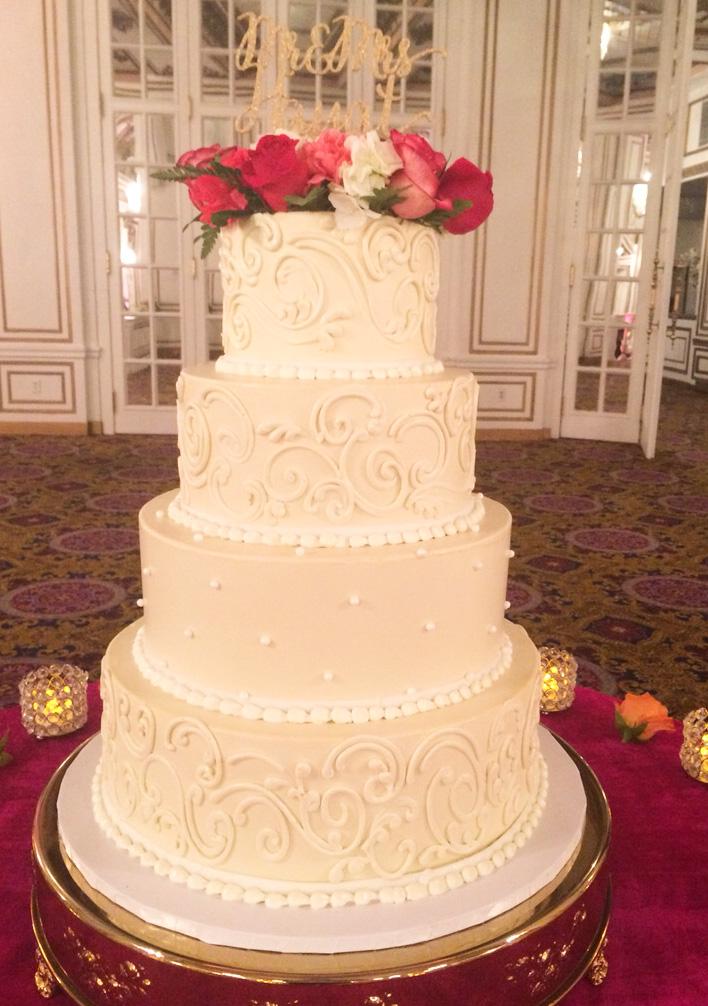 Wedding Cake Gallery — Gerardo\'s Italian Bakery