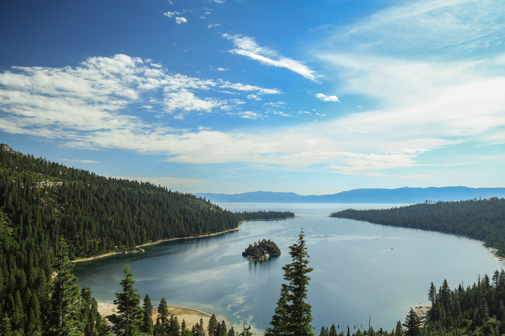 Emerald Bay in Lake Tahoe, California