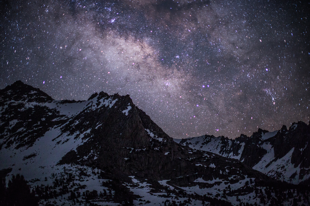 Milky Way over the Sierras
