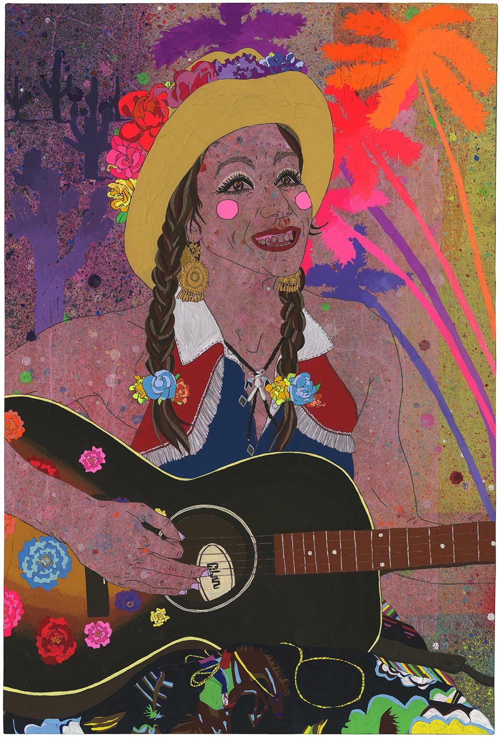 """Gringa Australiana"" - Portrait of Abbie Cardwell"