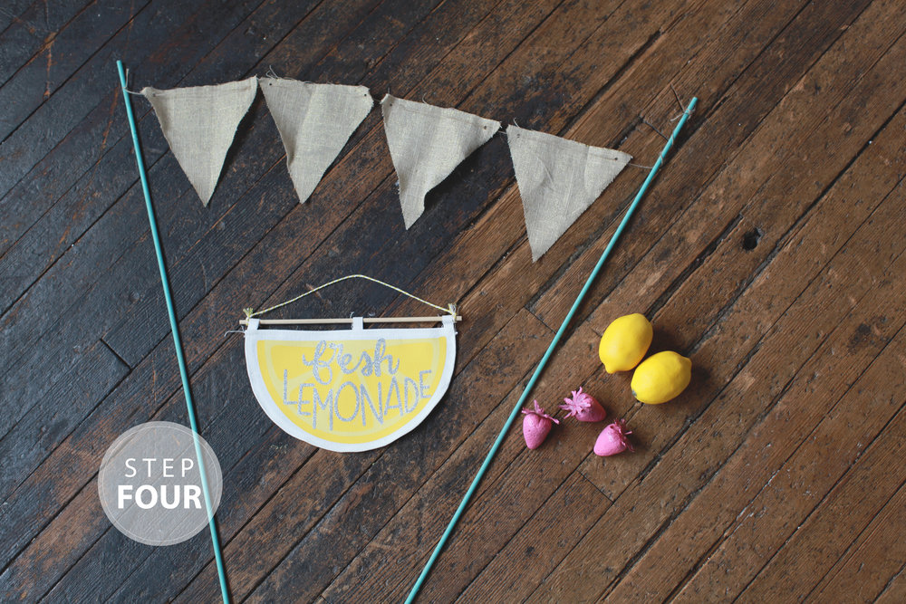 DIY Lemonade Stand by Hello Charlie
