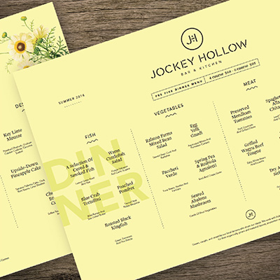 JOCKEY HOLLOW  CASE STUDY