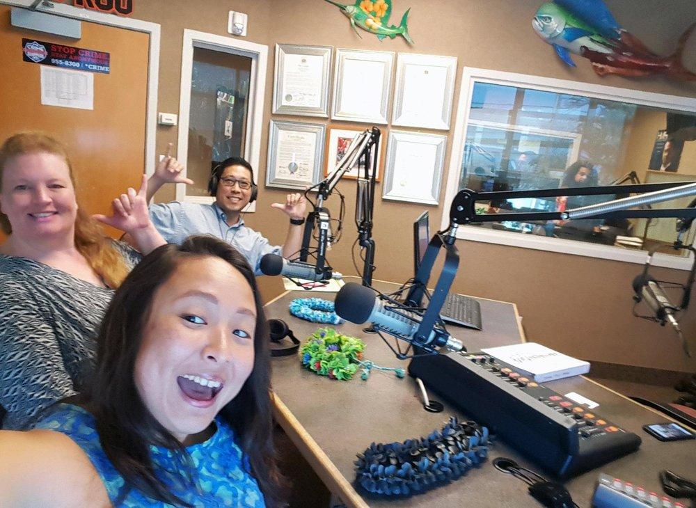 Erin Dawn Brad at radio station.jpg