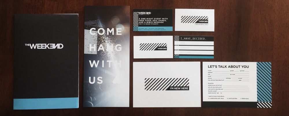 branding package for event in California
