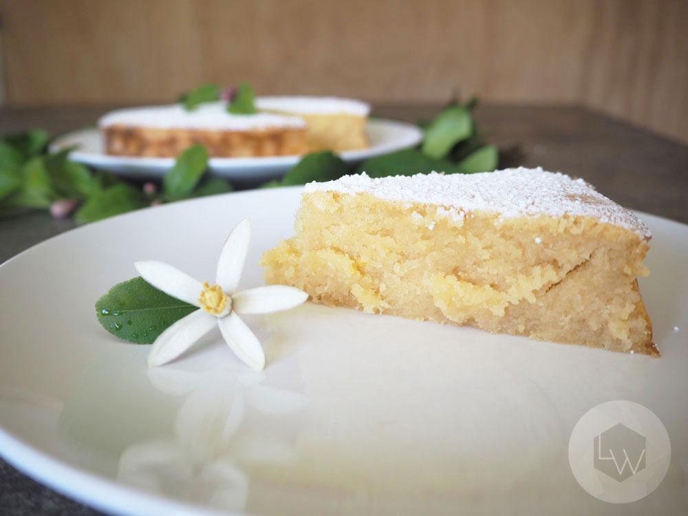 Sticky Lemon Cake via Lila Wolff