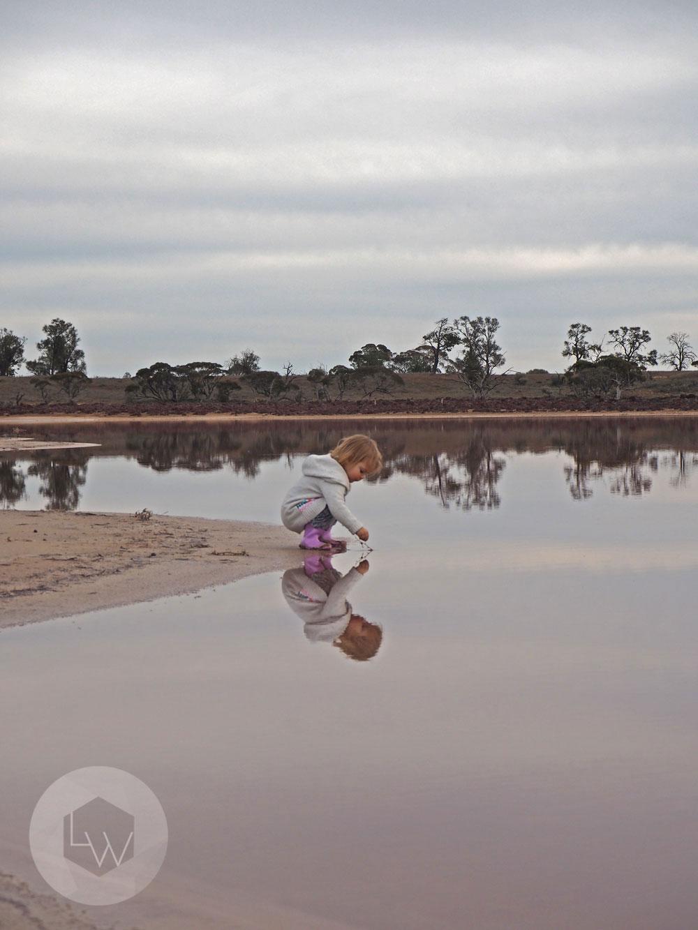 Pink lakes Ouyen