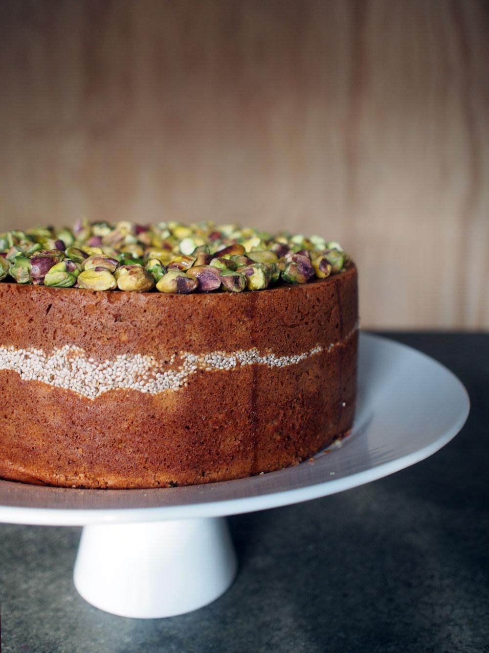 Clementine Chia Cake via Lila Wolff