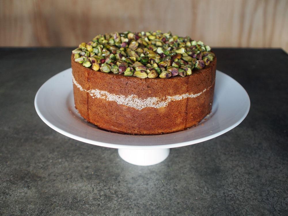 Clementine Chia Cake