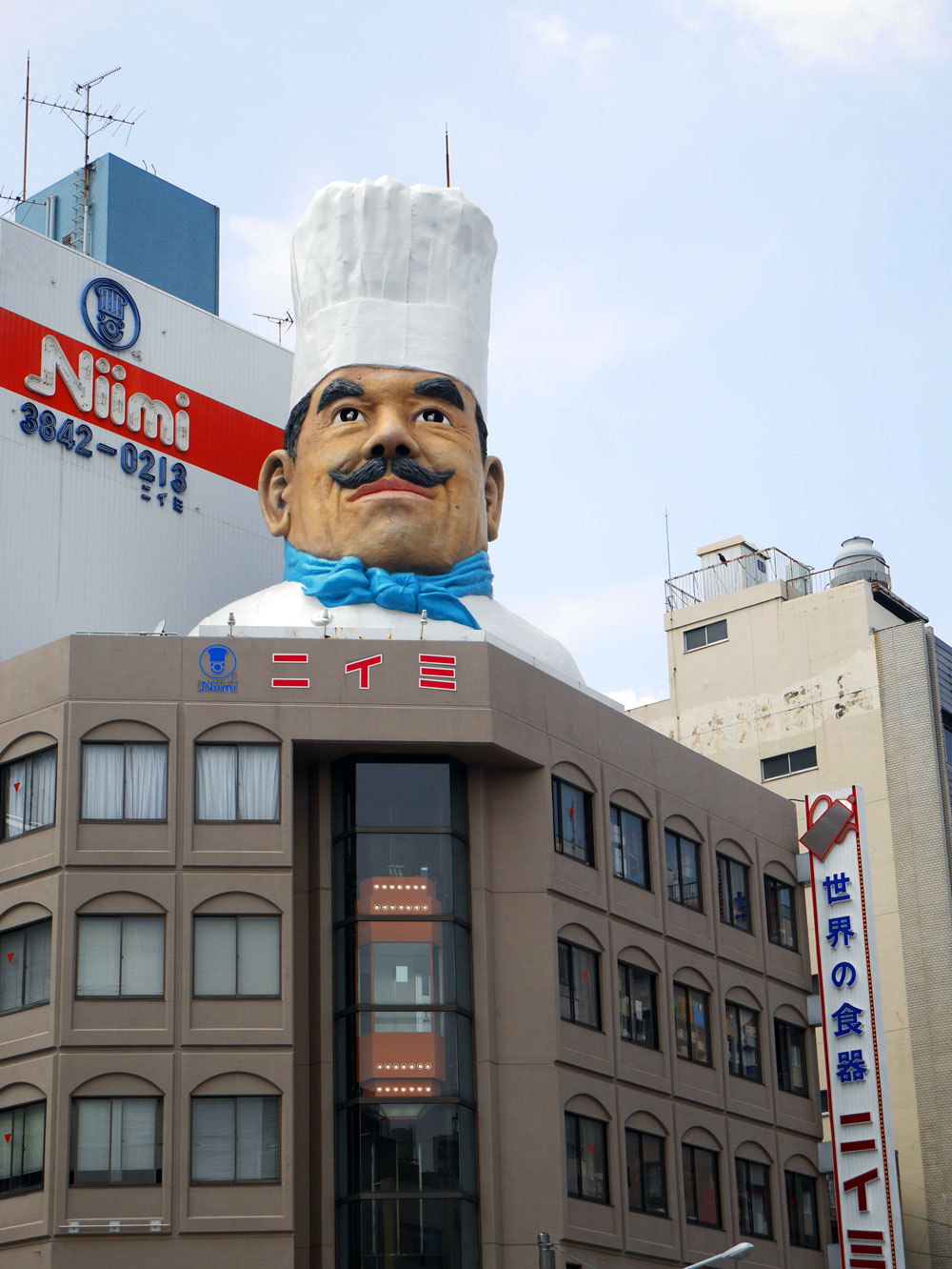 Kappabashi Chef Head