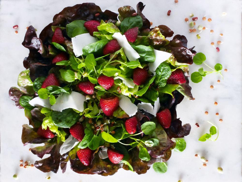 Blissful Balsamic Strawberry Salad