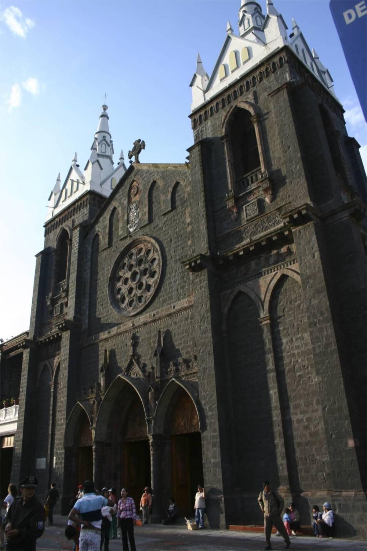 Santuario Virgen de Agua Santa Banos, Ecuador