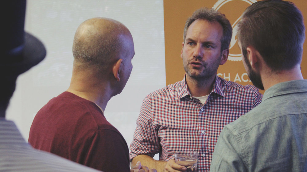 Boris Wertz, one of the leading tech angel investors in North America during one of his workshop at Launch Academy