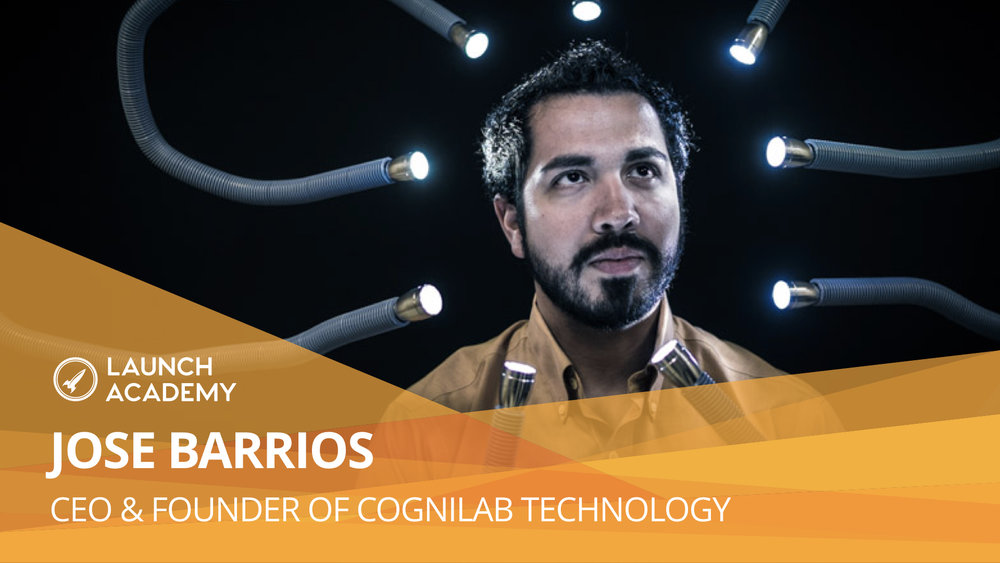 Embrace the challenge of each day being different JOSE BARRIOS: CEO & FOUNDER OF COGNILAB TECHNOLOGY Cognilab Technology helps social scientists create cognitive experiments without a them writing a single line of code. Cognilab focuses on delivering speed, scale, and accuracy for social scientists. Read More >>