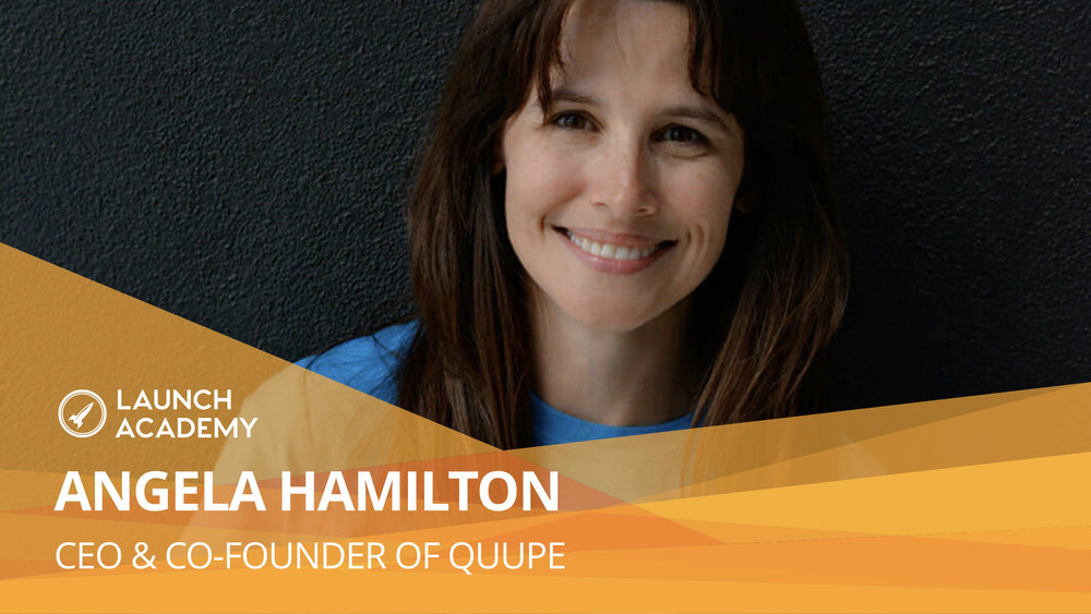 If you're passionate, you will find ways to getting 'yeses' out of people ANGELA HAMILTON: CEO & CO-FOUNDER OF QUUPE In a world of overconsumption and having too many things, Quupe gives us a silver lining. Their mission is to be the leader in peer-to-peer rentals, encouraging communities to share with each other instead of buying something new every time a need arises. Angela's startup is a marriage of her lifelong interests in technology, community building, event planning, writing, and design and help create a way for neighbours to share resources. Read More >>