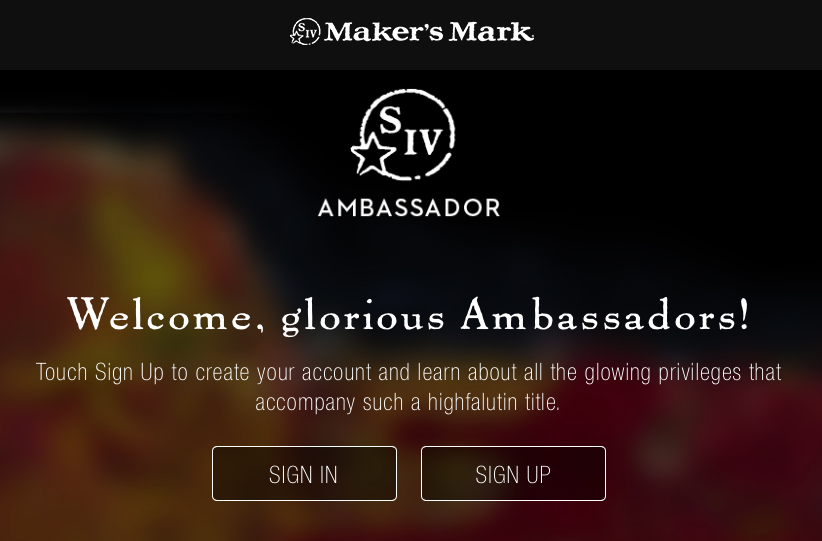 3291bdfb694 Maker s Mark Bourbon has created a thriving Ambassador program with over  100
