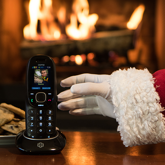 "Ooma asked Advocates to share their annual ""Tell Santa what's on your wish lists this holiday season"" promotion. Ooma makes two lucky kid's wishes come true."