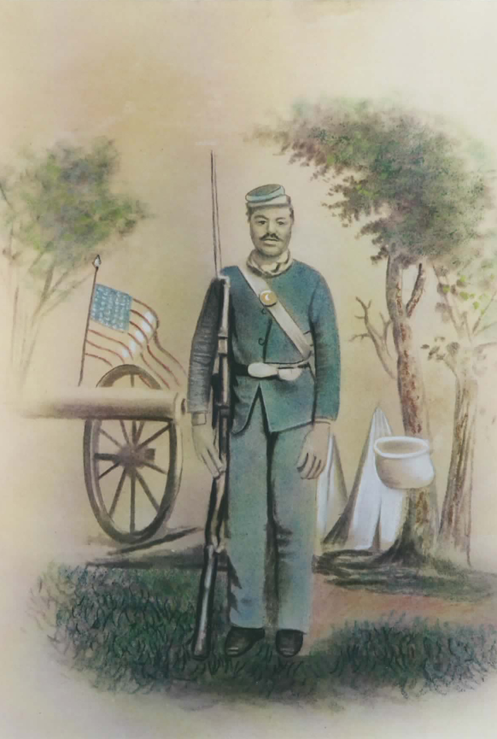 Sergeant Isaac Hall