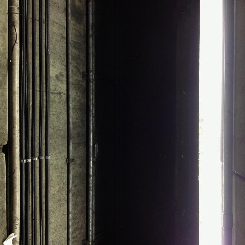 Original photo of DC Metro architectural details.