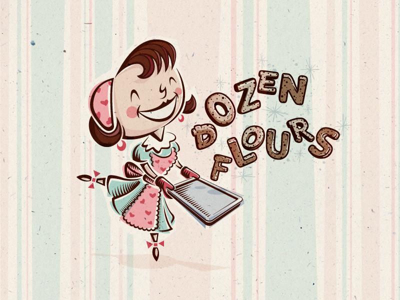 Dozen Flours main logo.