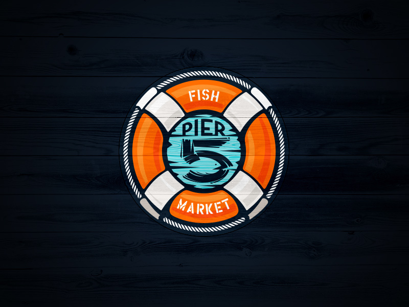 Category of business: Fish market. Published in:  Logopond v1  •    Logonest 02   •   I Heart Logos Season Two