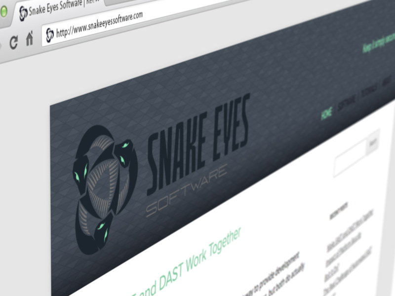Snake Eyes Software - website