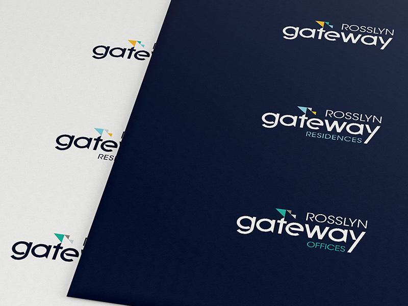 Rosslyn Gateway logo system