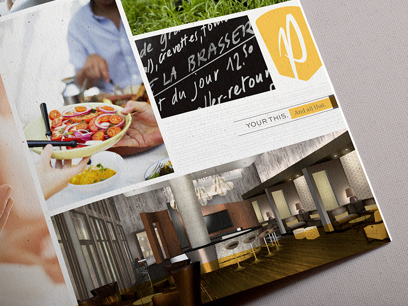Brochure interior.