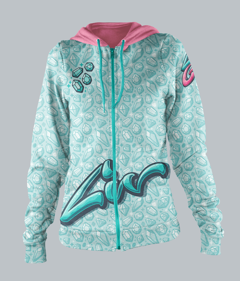 Liv-specific hoodie.