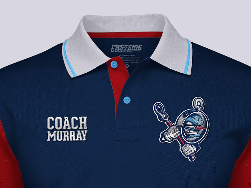 Coach's polo shirt