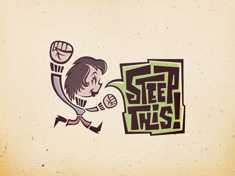 Steep This! alternate logo