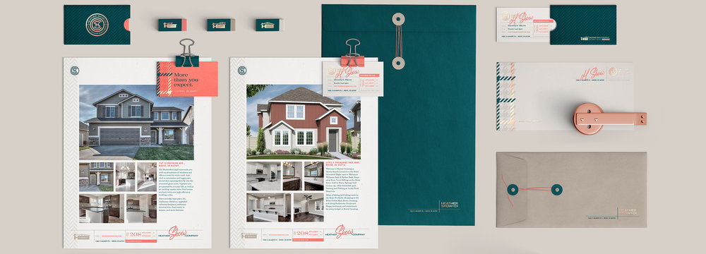 Heather Skow + Co. – Real estate brokerage branding