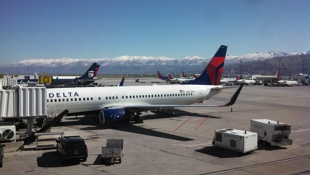 Salt Lake City Airport, Utah, USA
