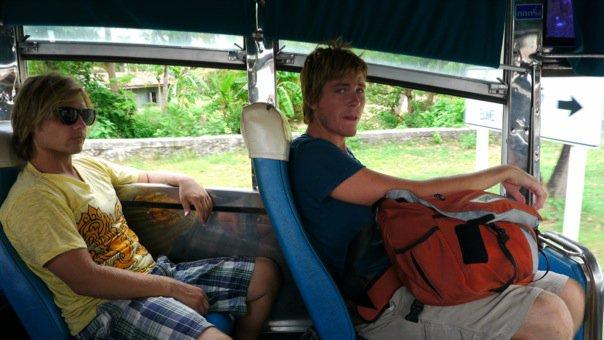 16-hour, life-threatening bus trip through Thailand