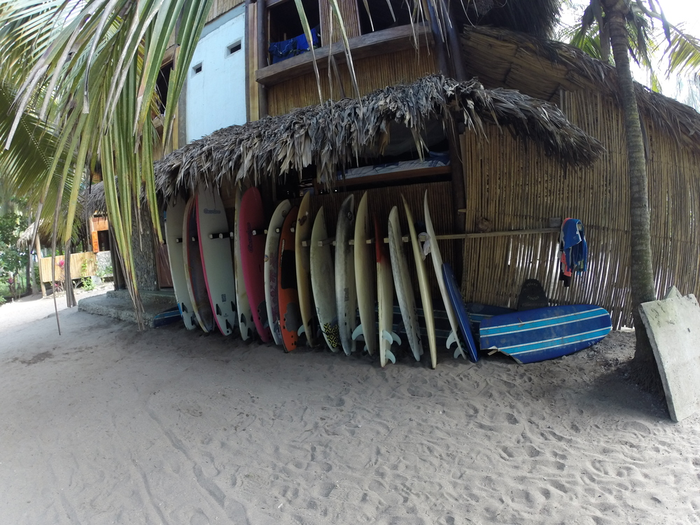 Costeño Beach: a hidden surf paradise I discovered on the coast of Colombia.