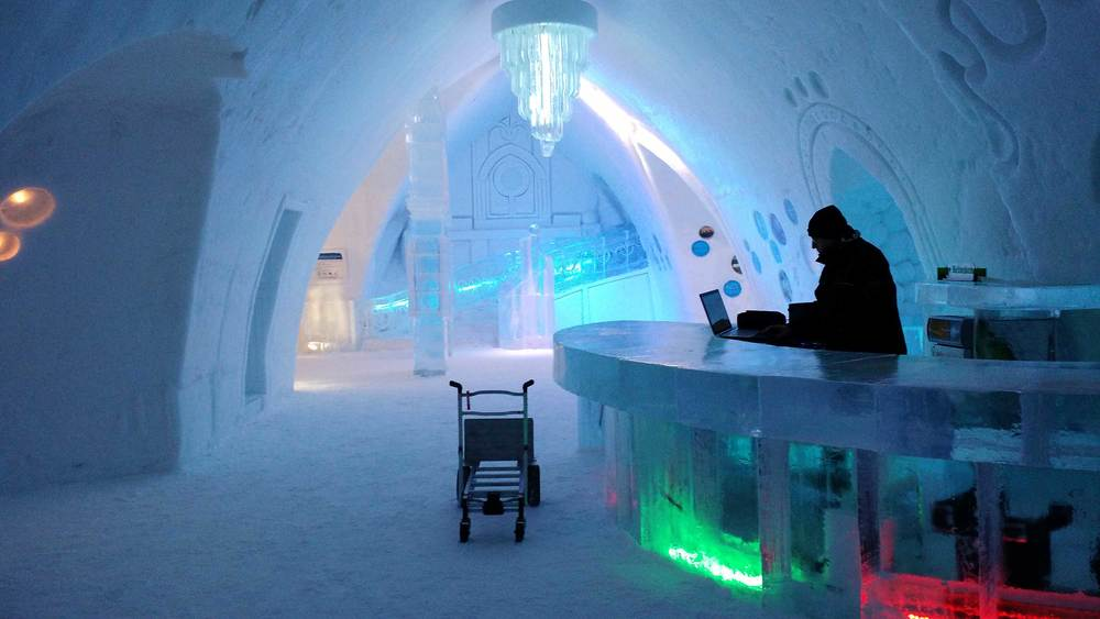The Ice Hotel, Québec City, Canada